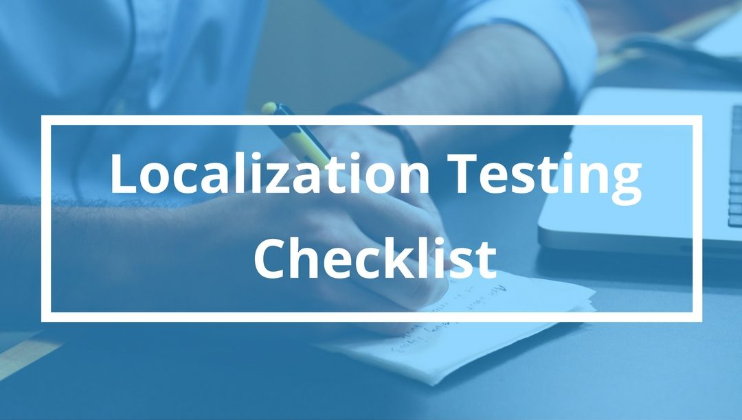 Website Localization Checklist